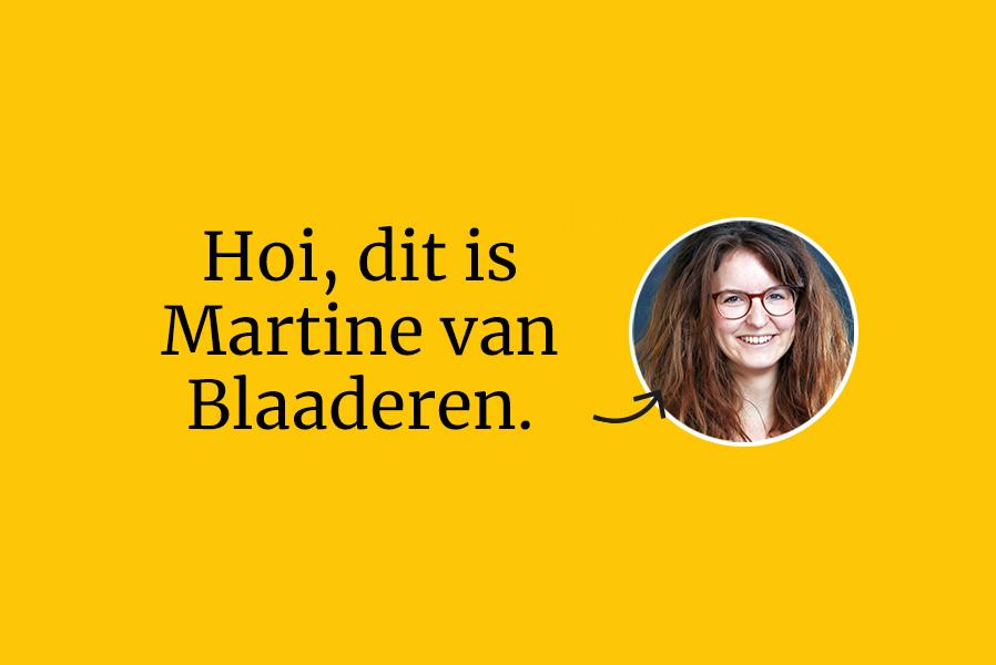 Welkom bij Dirigo: Martine
