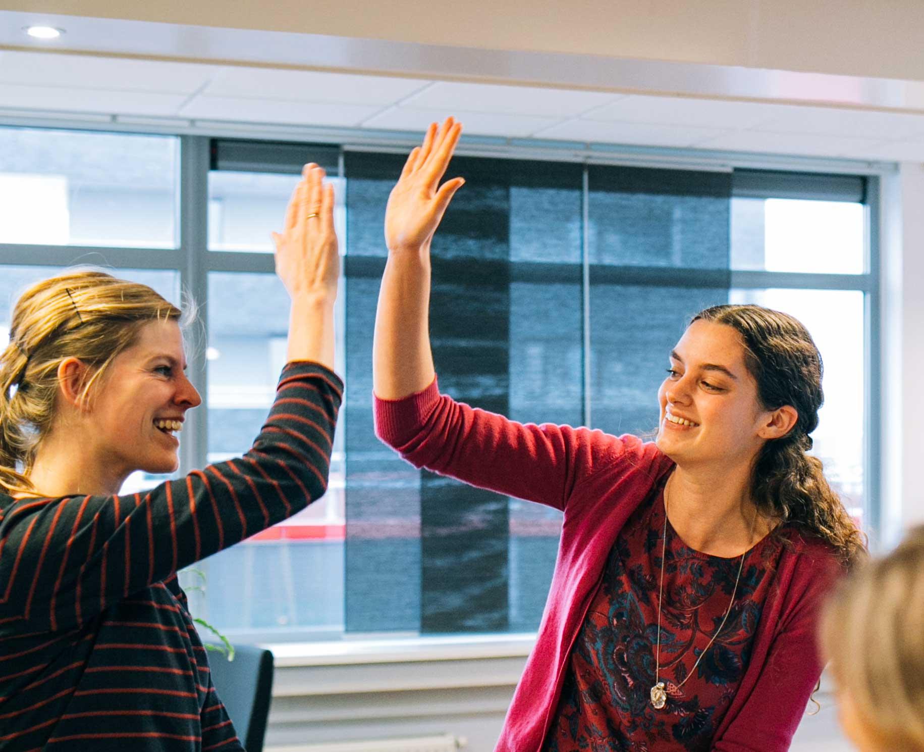 Werken bij Buro Dirigo is samen successen vieren